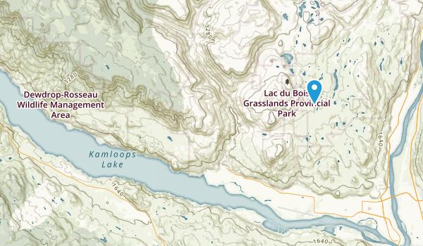 Thompson-Nicola J, British Columbia Map