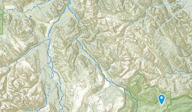 Toad River, British Columbia Map
