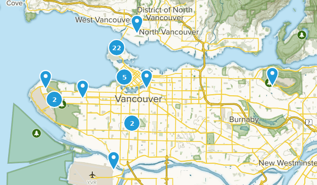 Vancouver Bc Canada Map.Best Trails Near Vancouver British Columbia Canada Alltrails