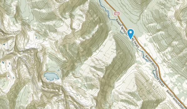 Vermilion Crossing, British Columbia Map