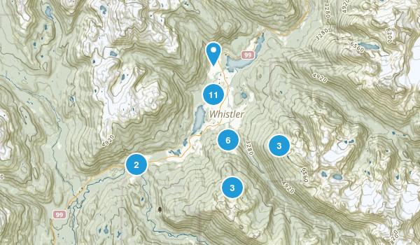 Whistler, British Columbia Map