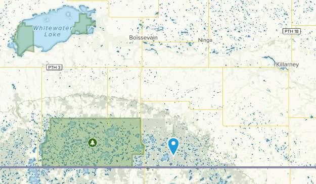 Boissevain-Morton, Manitoba Map