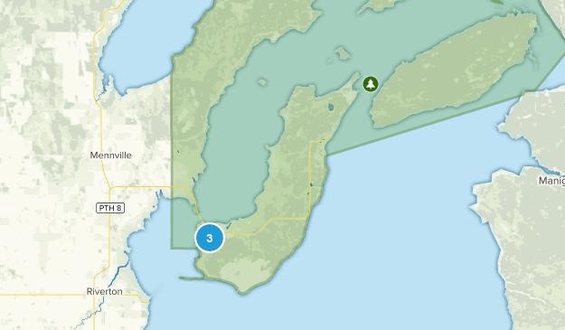 Division No. 18, Manitoba Map