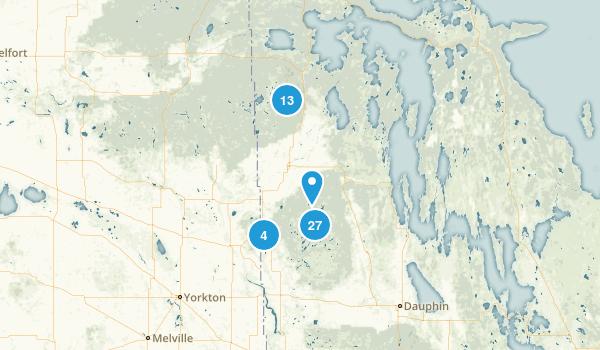 Division No. 20, Manitoba Map