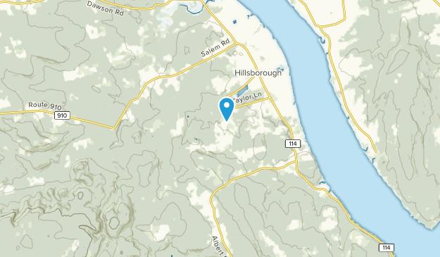 Hillsborough Parish, New Brunswick Map