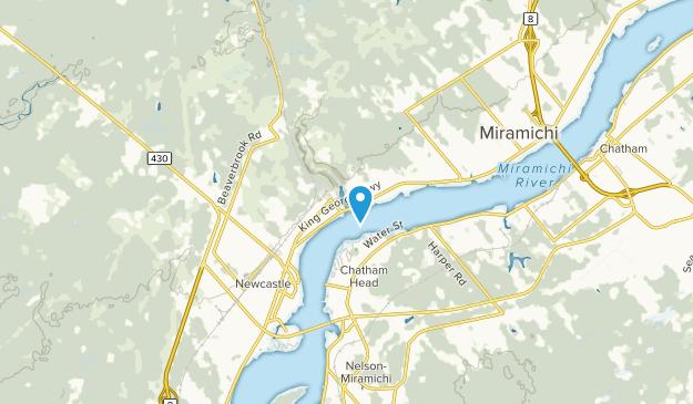 Miramichi, New Brunswick Map