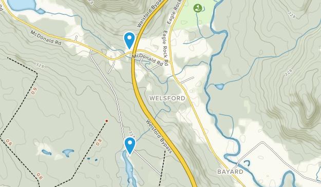 Welsford, New Brunswick Map