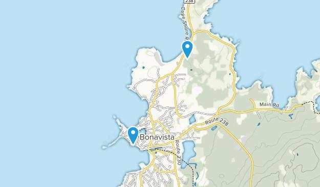 Bonavista, Newfoundland and Labrador Map