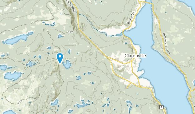 Clarenville, Newfoundland and Labrador Map