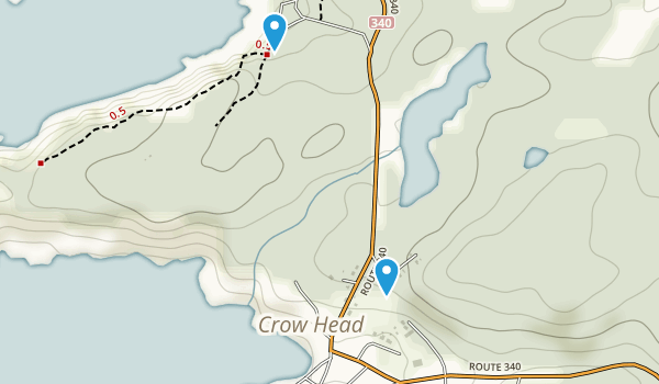 Crow Head, Newfoundland and Labrador Map