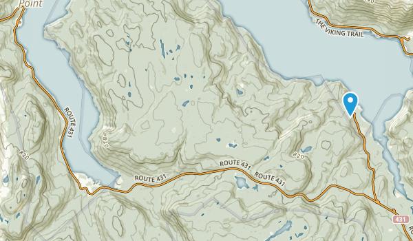 Division No. 9, Newfoundland and Labrador Map