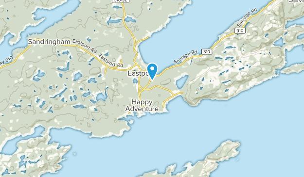 Eastport, Newfoundland and Labrador Map