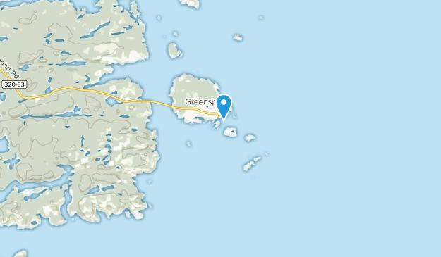 Greenspond, Newfoundland and Labrador Map
