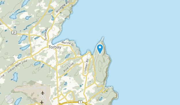 Middle Cove, Newfoundland and Labrador Map