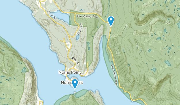 Norris Point, Newfoundland and Labrador Map