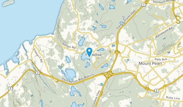 Paradise, Newfoundland and Labrador Map