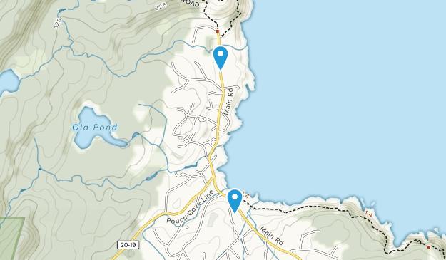 Pouch Cove, Newfoundland and Labrador Map