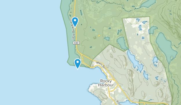 Rocky Harbour, Newfoundland and Labrador Map