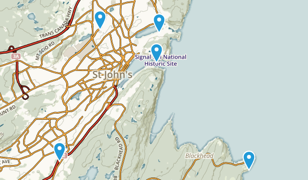 Saint John's, Newfoundland and Labrador Map