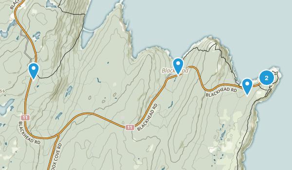 St John's, Newfoundland and Labrador Map
