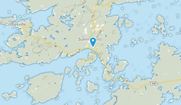 Summerford, Newfoundland and Labrador Map
