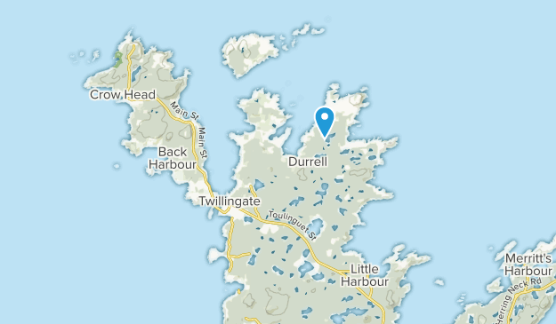 Twillingate, Newfoundland and Labrador Map