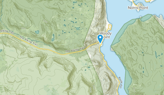 Woody Point, Newfoundland and Labrador Map