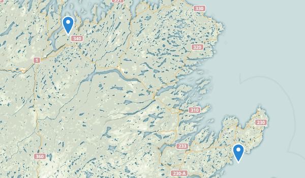 Newfoundland and Labrador, Newfoundland Map