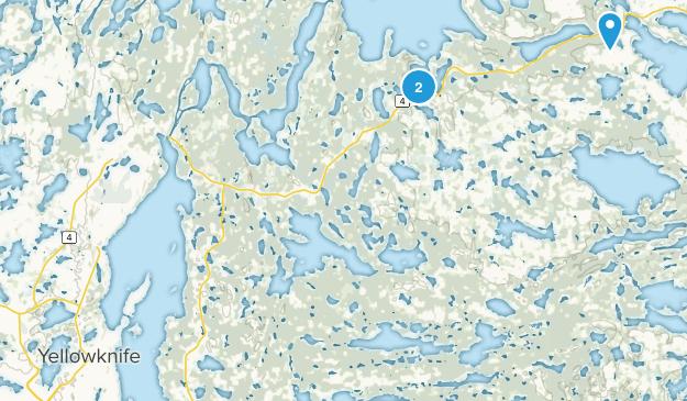 Behchoko, Northwest Territories Map