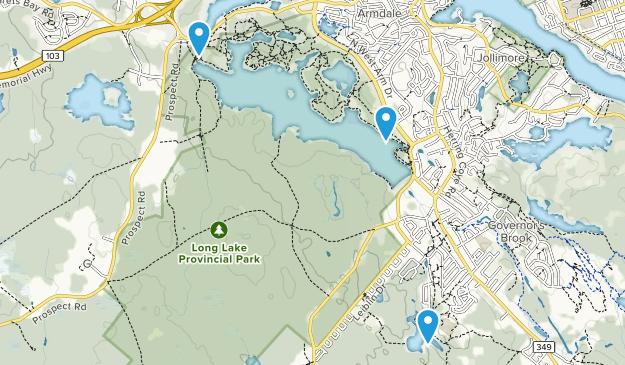 Armdale, Nova Scotia Map