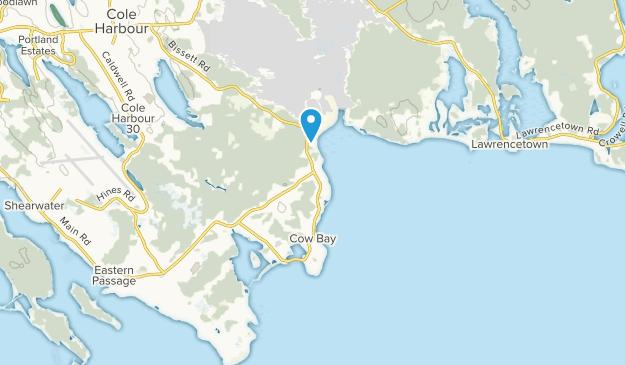 Cow Bay, Nova Scotia Map
