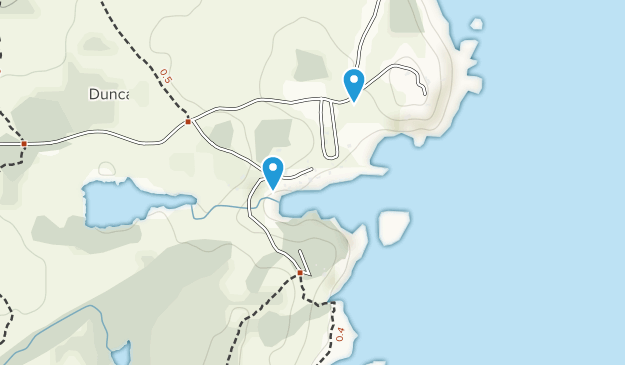 Duncan Cove, Nova Scotia Map