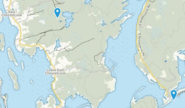 East Chezzetcook, Nova Scotia Map