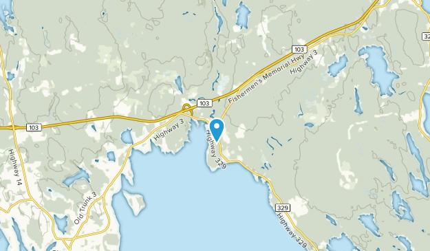 East River, Nova Scotia Map