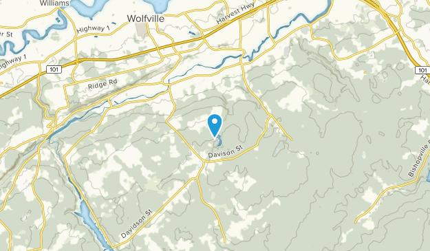 Forest Hill, Nova Scotia Map