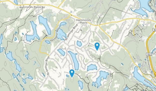 Hammonds Plains, Nova Scotia Map