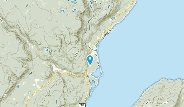 Indian Brook, Nova Scotia Map
