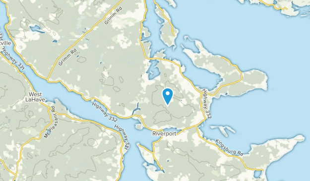 Indian Path, Nova Scotia Map