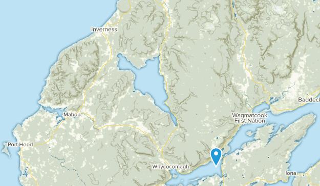 Inverness, Nova Scotia Map