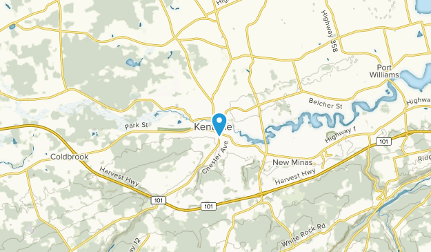 Kentville, Nova Scotia Map