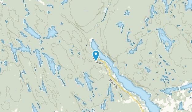 Lake Echo, Nova Scotia Map
