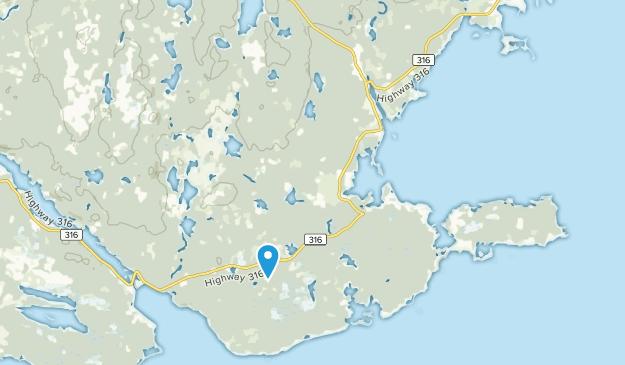 Larrys River, Nova Scotia Map