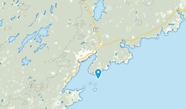 Louisbourg, Nova Scotia Map