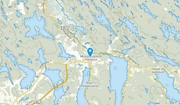 Musquodoboit Harbour, Nova Scotia Map