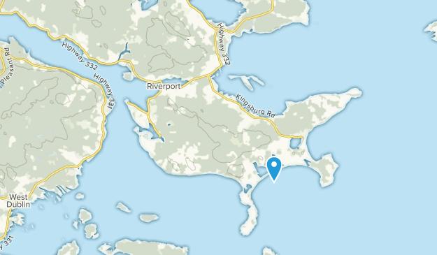 Riverport, Nova Scotia Map