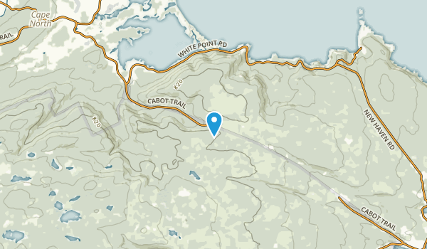 Smelt Brook, Nova Scotia Map