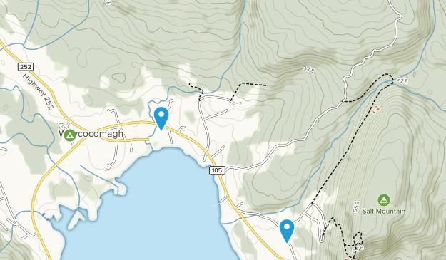 Whycocomagh, Nova Scotia Map