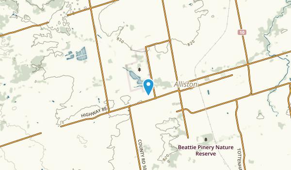 Adjala-Tosorontio, Ontario Map