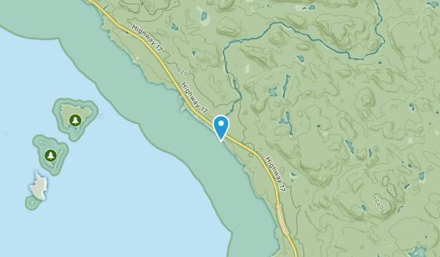 Agawa Bay, Ontario Map