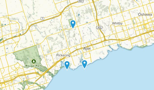 Ajax, Ontario Map